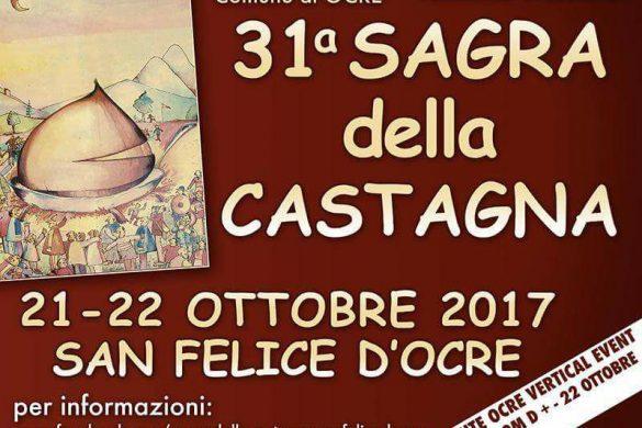 31^ Sagra della Castagna - San Felice d'Ocre - L'Aquila - Feste d'Autunno in Abruzzo