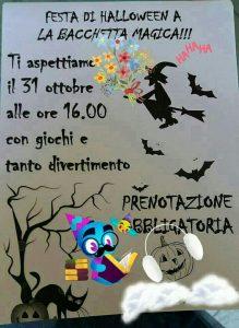 Festa di Halloween - La Bacchetta Magica - Pescara