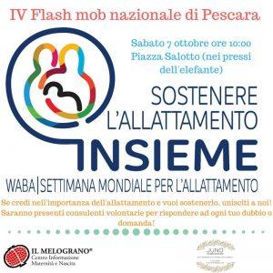 Flas Mob Allattamento Materno - Pescara