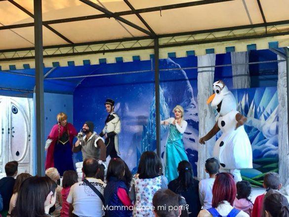 Frozen-Il Fantistico Mondo del Fantastico-Castello di Lunghezza-Roma