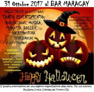Halloween-Bar Maracay-Civitella del Tronto-Teramo