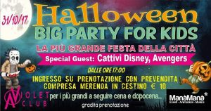 Halloween Big Party - Violet Club - Teramo