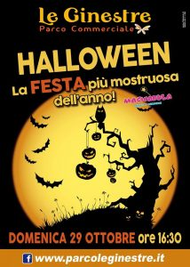 Halloween-Parco Le Ginestre-Celano