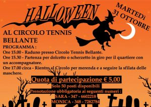 Halloween Party - Circolo Tennis - Bellante - Teramo