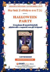 Halloween Party - Libreria Giunti al Punto - Pescara
