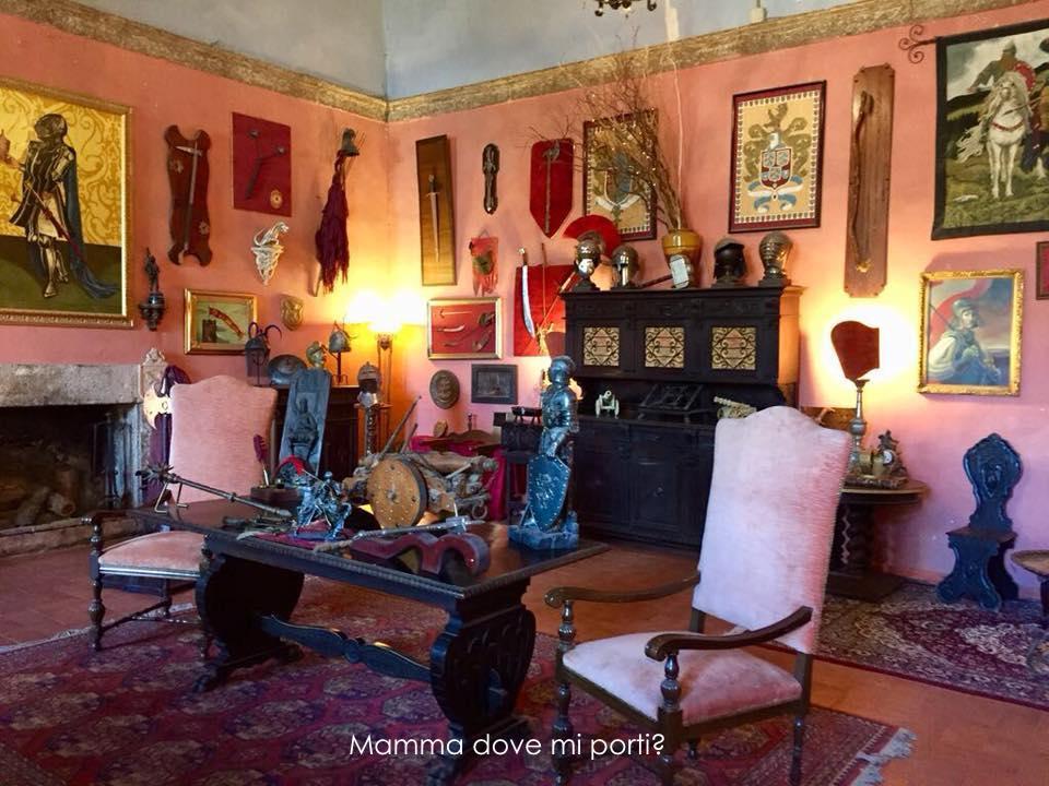 Interno Castello di Lunghezza-Il Fantistico Mondo del Fantastico-Roma-