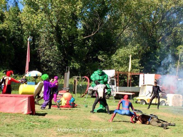 La Battaglia dei Supereroi - Il Fantistico Mondo del Fantastico-Castello di Lunghezza-Roma