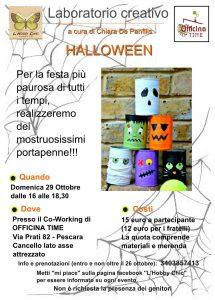 Laboratorio creativo - Halloween - Officina Time - Pescara