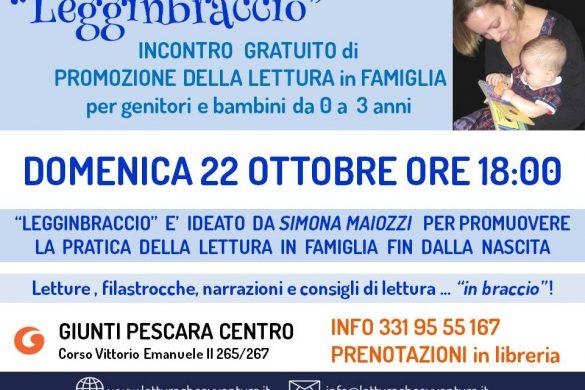 Legginbraccio - La Fata della Lettura-Pescara