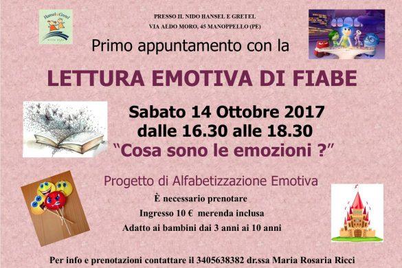 Lettura Emotiva di Fiabe - Hansel Gretel - Manoppello - Pescara