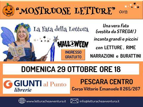 Mostruose-Letture-La-Fata-della-Lettura-Libreria-Giunti-al-Punto-Pescara
