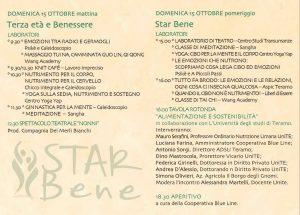 STAR Bene - Programma domenica - Teramo