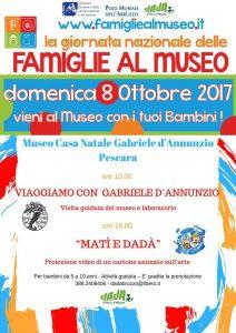 Viaggiamo con Gabriele D'Annunzio Museo Casa Natale D'Annunzio - Pescara