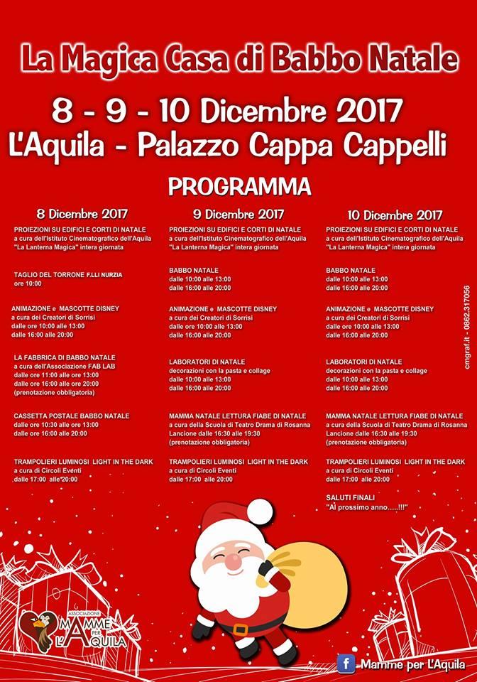 La-Magica-Casa-di-Babbo-Natale-Mamme-per-L-Aquila