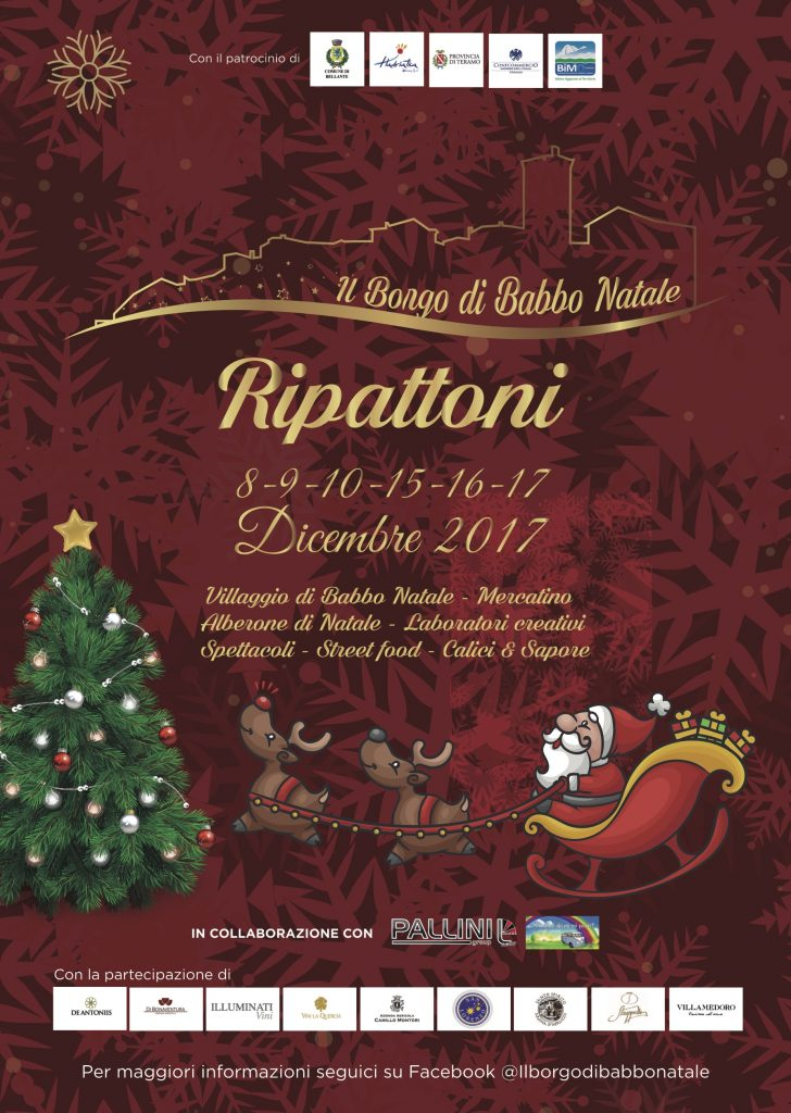 Il Borgo di Babbo Natale Ripattoni di Bellante (Te)