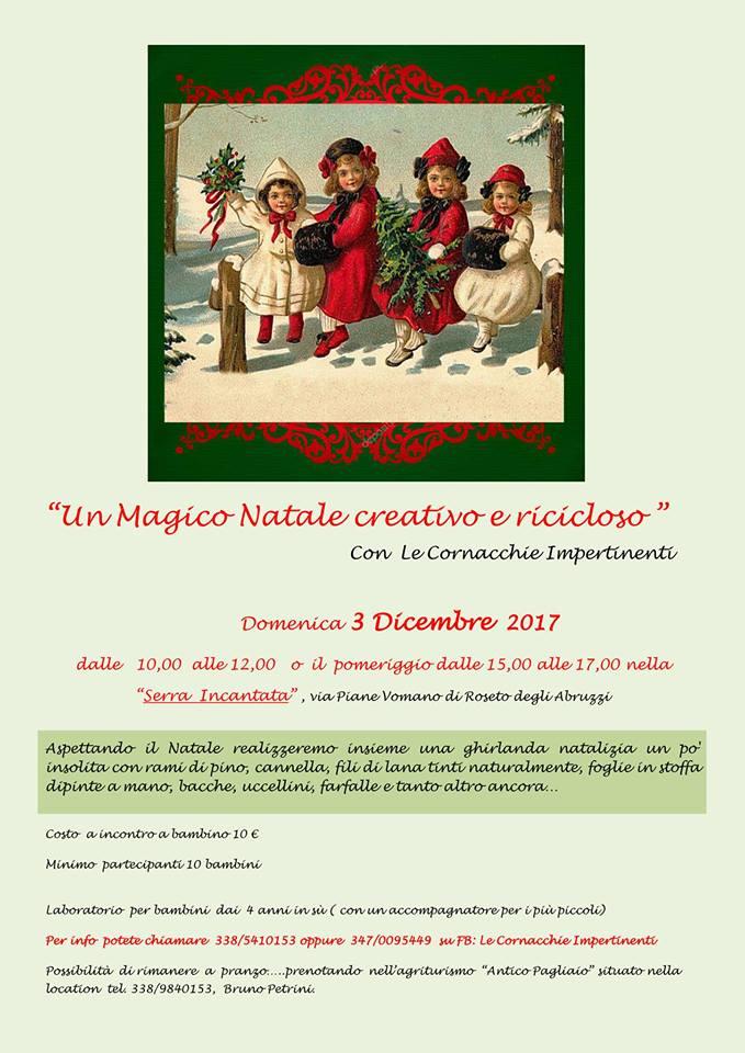 Un Magico Natale Creativo e Ricicloso-Roseto-degli-Abruzzi-Teramo