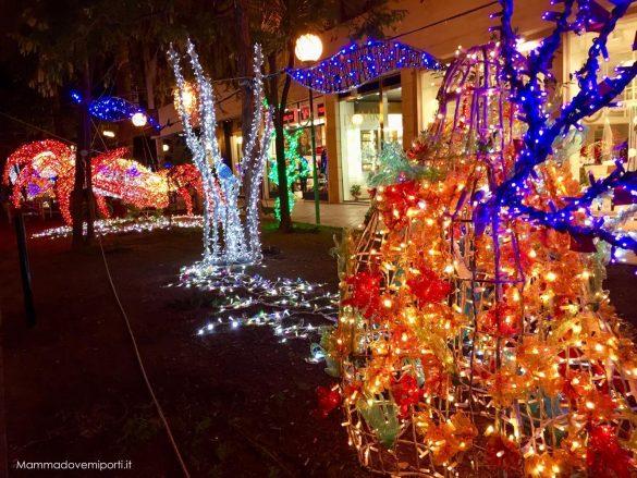 Luci d'artista a Pescara, dove sono le luminarie di Natale