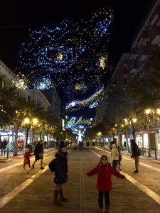 Luci d'artista Luminarie Pescara Natale 2017 - Corso Umberto I