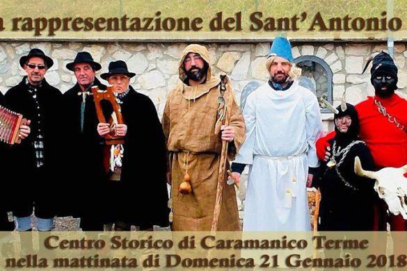 Antica-rappresentazione-di-Sant'Antonio-Caramanico-Terme-Pescara