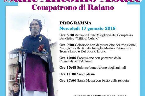 Sant-Antonio-Abate-Festeggiamenti-Raiano-L-Aquila