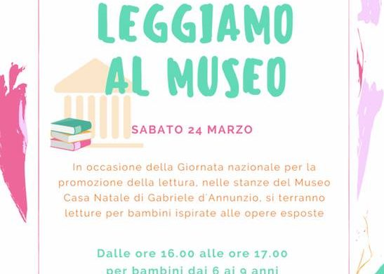 Leggiamo-al-Museo-Casa-Natale-D-Annunzio