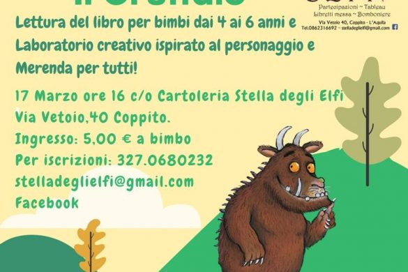 Lettura-del-Libro-Gruffalò-Stella-degli-Elfi-Coppito-AQ