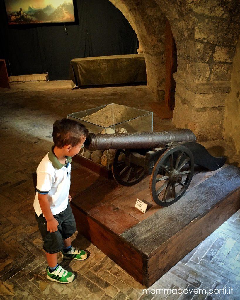 Museo-delle-Armi-Fortezza-Civitella-del-Tronto-TE-Mamma dove mi porti?