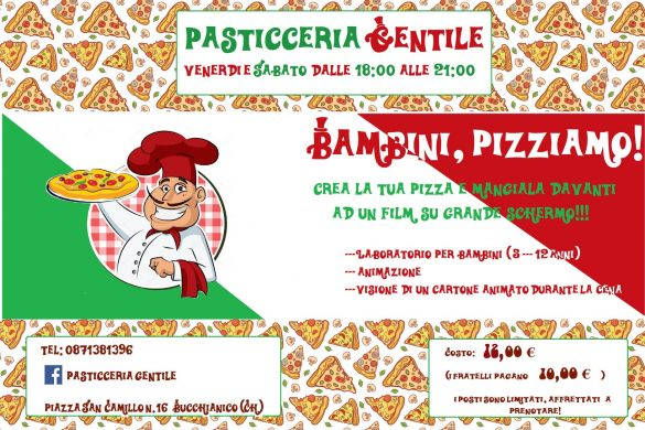 Bambini Pizziamo - Pasticceria Gentile - Bucchianico (CH)