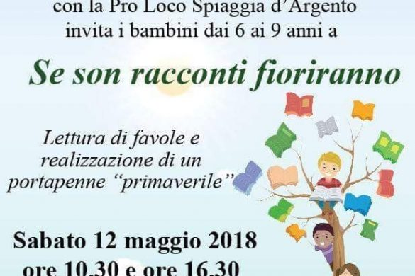 Alba Adriatica (TE) - Se son racconti fioriranno - Biblioteca Comunale