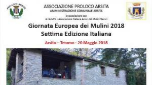 Arsita (Te) - Visita al Mulino del Fino 20 maggio 2018