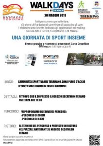 Walking Days - Decathlon Teramo