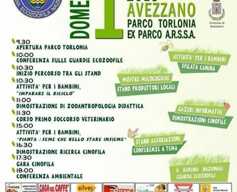 1^ Giornata delle Guardie Ecozoofile - Avezzano - L'Aquila