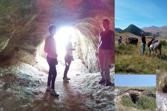 Camminare nella storia a passo d'asino - Santo Stefano di Sessanio - L'Aquila