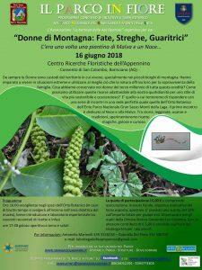 Donne di montagna Fate Streghe Guaritrici - Parco in Fiore - Barisciano - L'Aquila