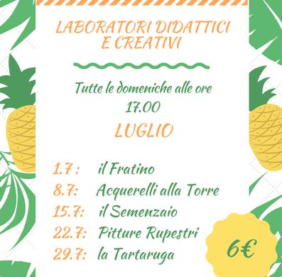 Laboratori didattici e creativi - Torre del Cerrano - Pineto - Teramo