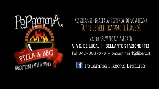 Papamma - Pizza & BBQ - Logo