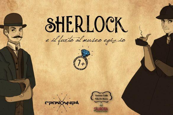 Sherlock e il Furto al Museo egizio - Villa De Resis - Pescara