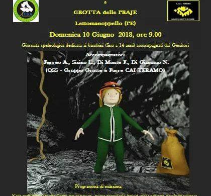 Speleobimbo - Grotta delle Fraje - Lettomanoppello - Pescara