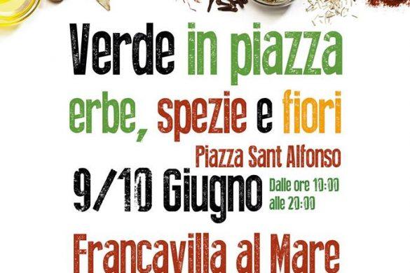 Verde in piazza erbe spezie e fiori - Francavilla al Mare - Chieti