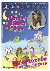 Notte Rosa dei Bambini - giornalino 2018 - Tortoreto