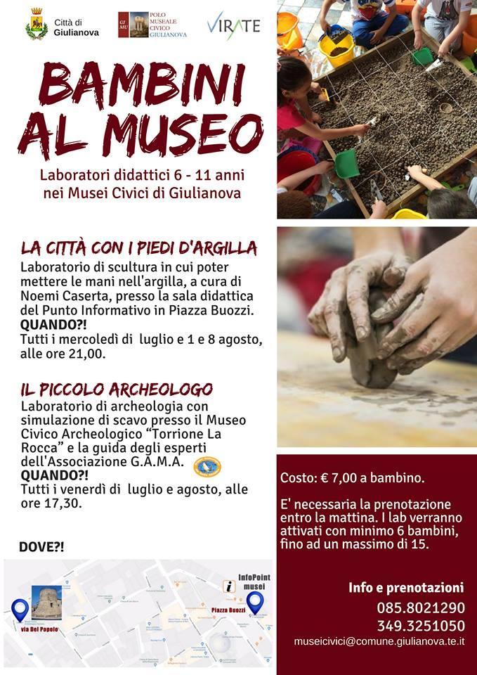 Bambini al Museo - Virate - Giulianova - Teramo