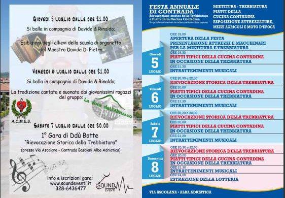 Festa Annuale di Contrada - Alba Adriatica - Teramo