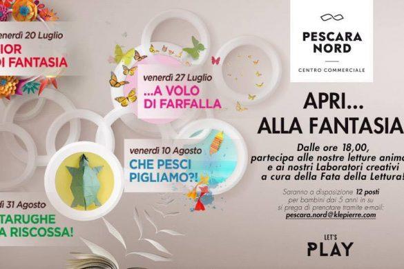 Tartarughe alla riscossa - Fata della Lettura - CC Pescara Nord