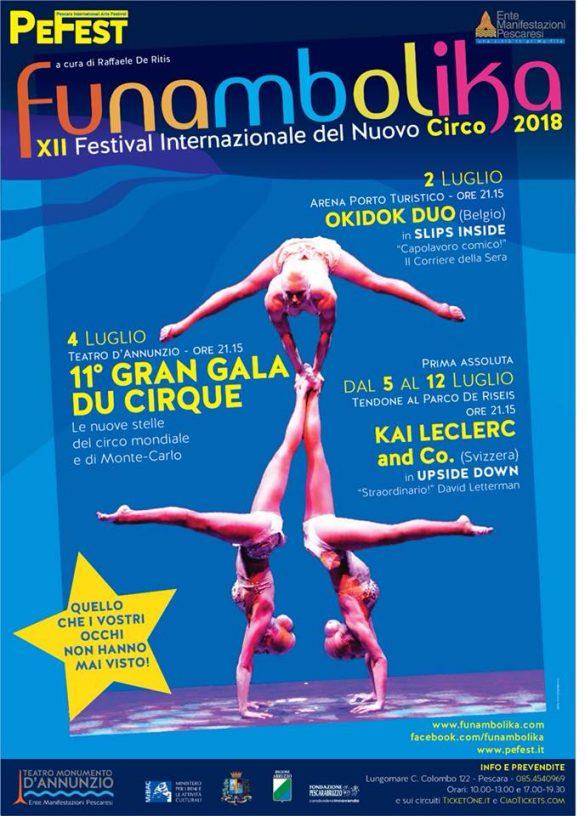 Funambolika - Festival Internazionale del Nuovo Circo - Pescara