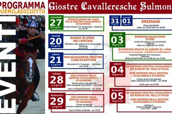 Giostra Cavalleresca - Sulmona - L'Aquila