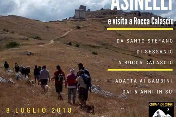 Passeggiata con gli asinelli e visita a Rocca Calascio - L'Aquila