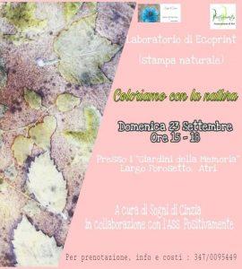Coloriamo-con-la-Natura-Atri-TE- Eventi per bambini Teramo