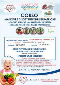 Corso-Manovre-disostruzione-Pediatrica-Atri-TE-Eventi per bambini Teramo