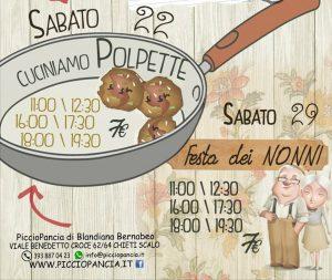 Cuciniamo-Polpette-PiccioPancia-Eventi per bambini Chieti