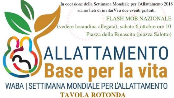 Flash Mob e Tavola Rotonda Allattamento Pescara